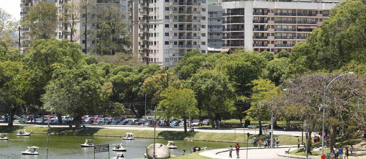 O Parque Quinta da Boa Vista é uma das principais atrações do bairro de São Cristóvão Foto: Domingos Peixoto / Agência O Globo
