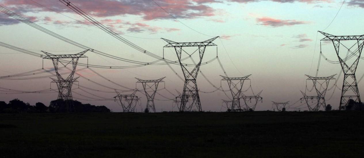 Energia cara: as garantias de pagamento do primeiro empréstimo são os reajustes tarifários da conta de luz do consumidor que começarão em 2015 Foto: Dado Galdieri / Bloomberg