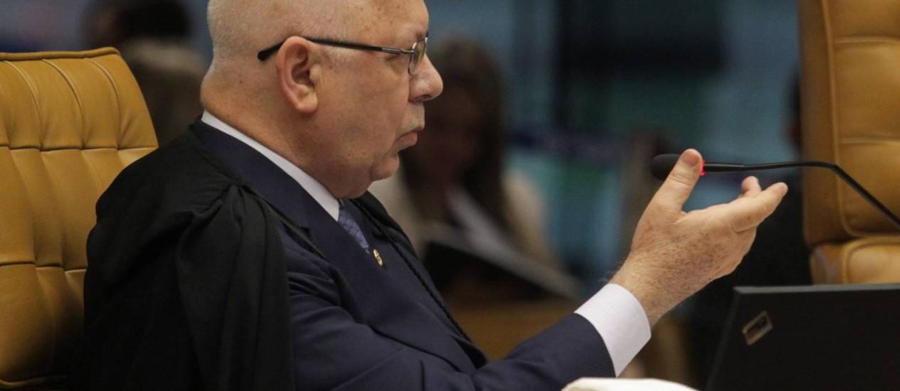 O ministro Teori Zavascki Foto: Givaldo Barbosa / O Globo - 27/02/2014