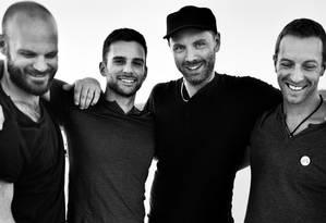 A banda Coldplay Foto: Divulgação
