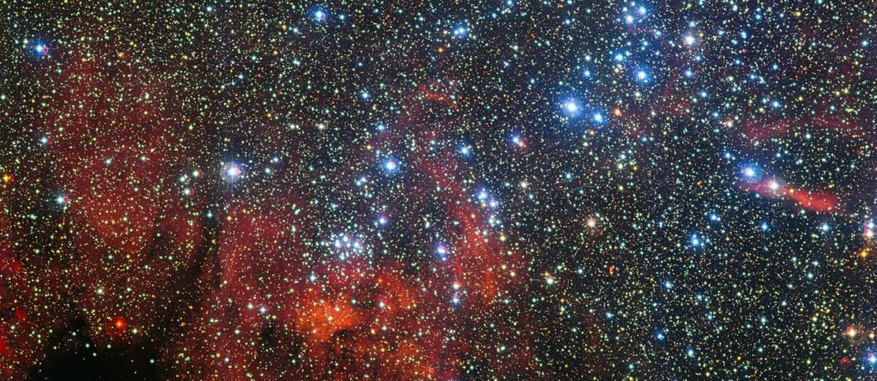 Com o exame, os astrônomos podem entender melhor a estrutura espiral da Via Láctea Foto: ESO/G. Beccari
