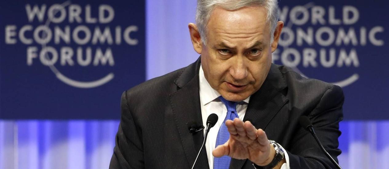 """Netanyahu se diz apto a cumprir expectativas do Papa: """"Sou capaz de trazer a paz, mas é preciso haver vontade dos dois lados"""" Foto: REUTERS/23-1-2014"""