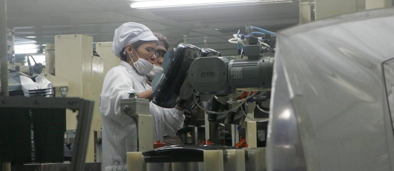 Ação suspensa. Na fábrica em Manaus Foto: Raimundo Valentim / Diário do Amazonas/Arquivo