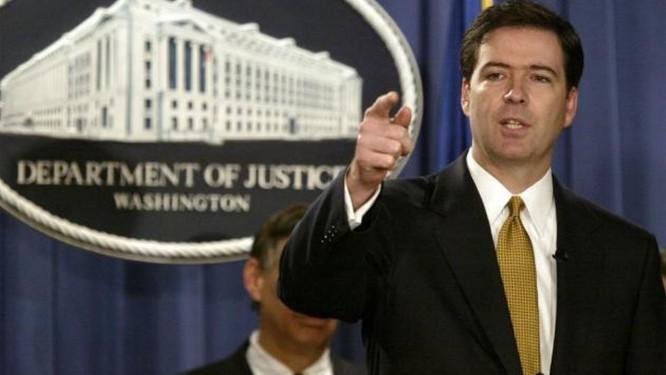 James Comey, diretor do FBI Foto: Evan Vucci / AP Photo