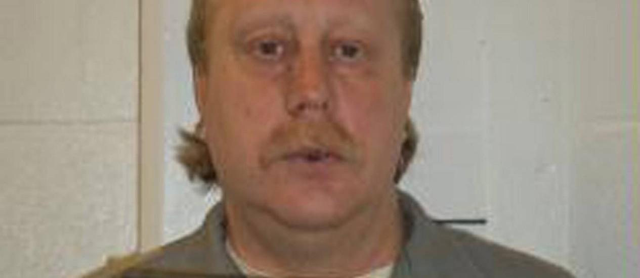 Bucklew foi condenado à morte por violentar sua ex-namorada e matar o namorado da mulher Foto: HANDOUT / REUTERS