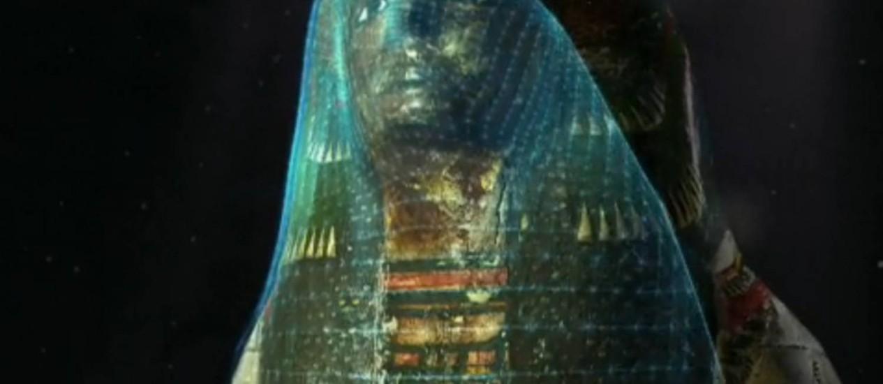Oito múmias do Museu Britânico foram escaneadas e serão expostas ao público Foto: Reprodução/Museu Britânico