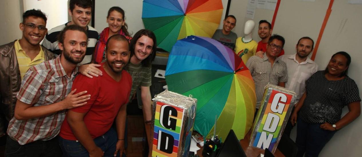 Os organizadores do evento fazem parte do Grupo Diversidade Niterói (GDN) Foto: Pedro Teixeira