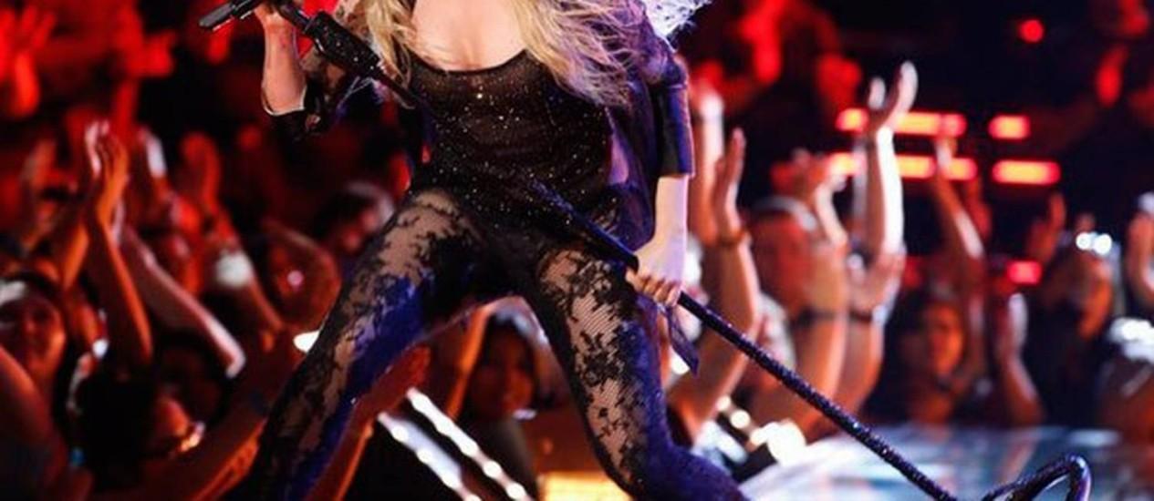Shakira se apresenta na final do 'The Voice' Foto: Reprodução