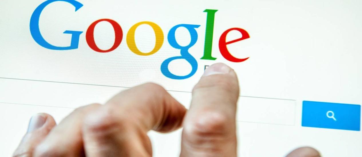 Google: à frente da Apple em novo ranking. Foto: / Foto AFP