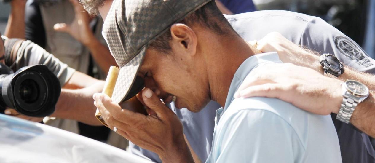 O caseiro Rogerio Pires desconhecia teor de depoimentos prestados à Polícia Civil, diz defensora. Foto: Antonio Scorza / O Globo