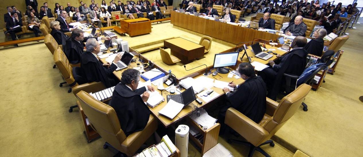 STF suspende resolução do TSE que limitava poder de investigação do MP Foto: Divulgação/ STF