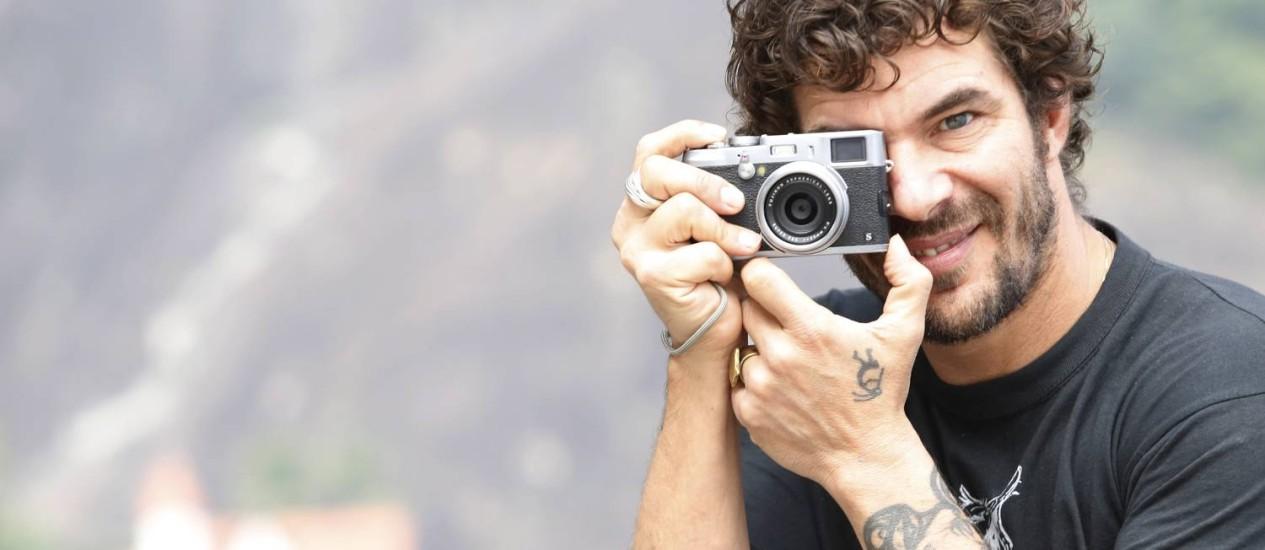 Giorgio Palmera, fundador e líder da ONG Fotógrafos sem Fronteiras: 'O fotojornalismo impresso tradicional acabou' Foto: Ana Branco / Agncia O Globo