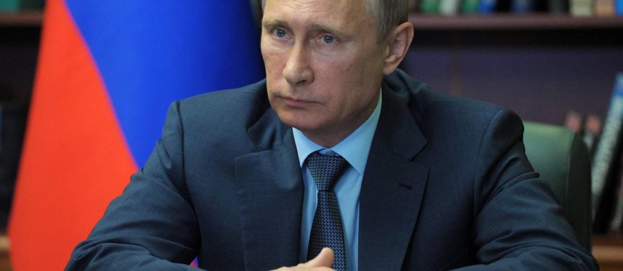 O presidente russo Vladimir Putin teria sido comparado por Charles a Hitler Foto: ALEXEY DRUZHININ / AFP