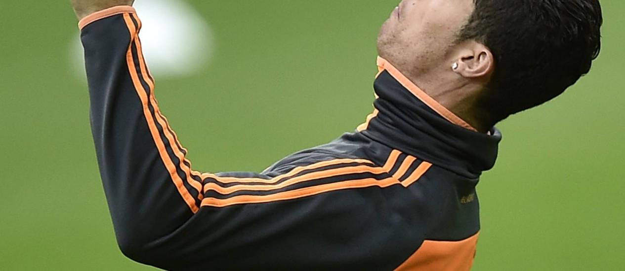 Cristiano ronaldo é a maior esperança da torcida do Real Madrid para a conquista da décima Liga dos Campeões Foto: Matin Meissner / AP