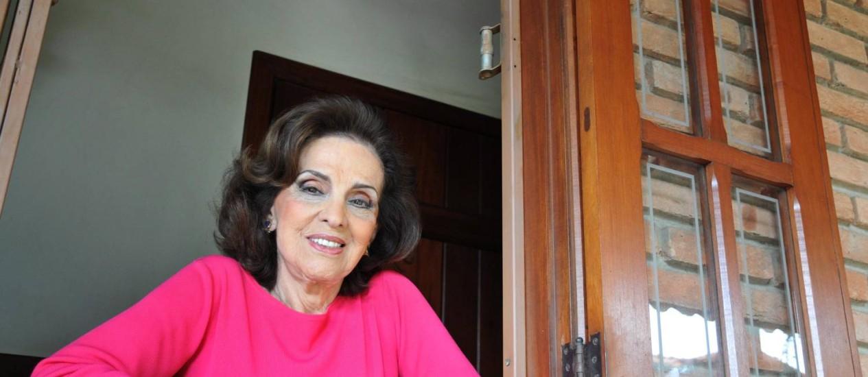 Dilma Jane recebeu alta na manhã desta quinta. Foto: Alexandre Guzanshe / O Globo