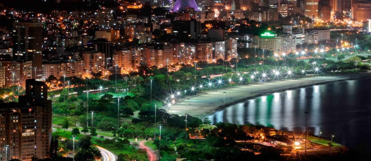 O Aterro do Flamengo, um dos cartões-postais do Rio, inspira o repórter-fotográfico Foto: Agência O Globo / Pedro Kirilos