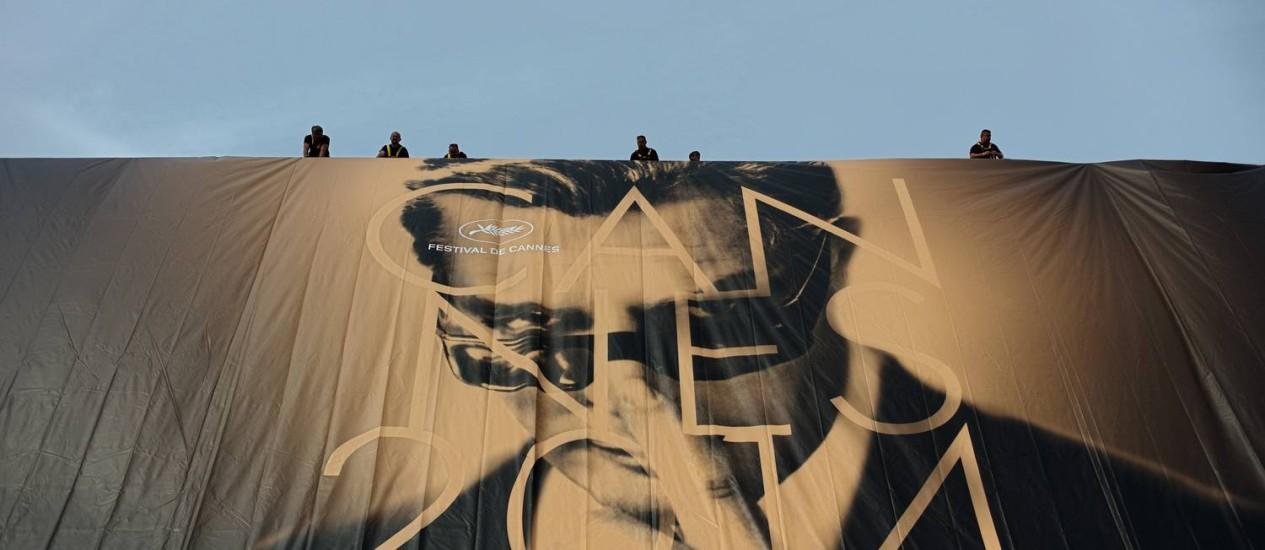 Cartaz de Cannes 2014 Foto: Thibault Camus / AP