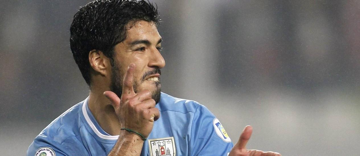 Suárez garantiu que estará na Copa do Mundo Foto: Enrique Castro-Mendivil / Reuters