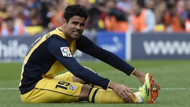 8dca34cae1 Diego Costa treinou com bola nesta quinta-feira Foto  LLUIS GENE   AFP