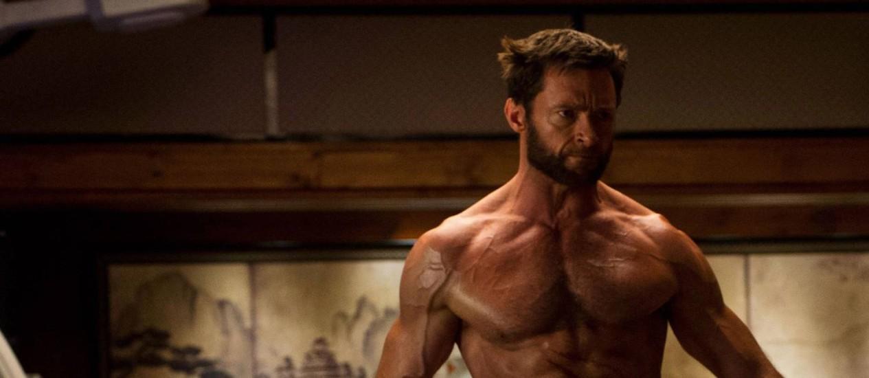 Hugh Jackman em cena de 'Wolverine: Imortal' Foto: Divulgação