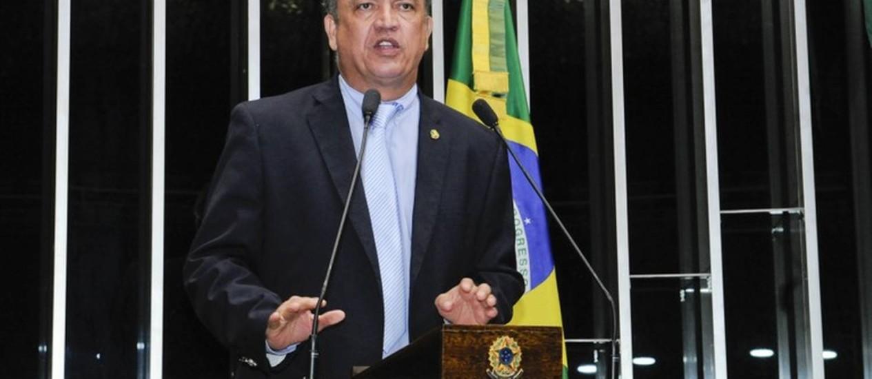 O senador Sérgio Petecão (PSD-AC) Foto: Agência Senado