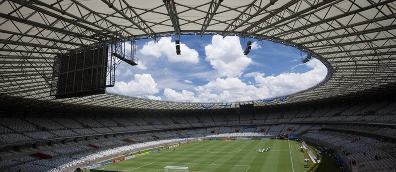 O Mineirão, uma das sedes da Copa Foto: Portal da Copa / Divulgação