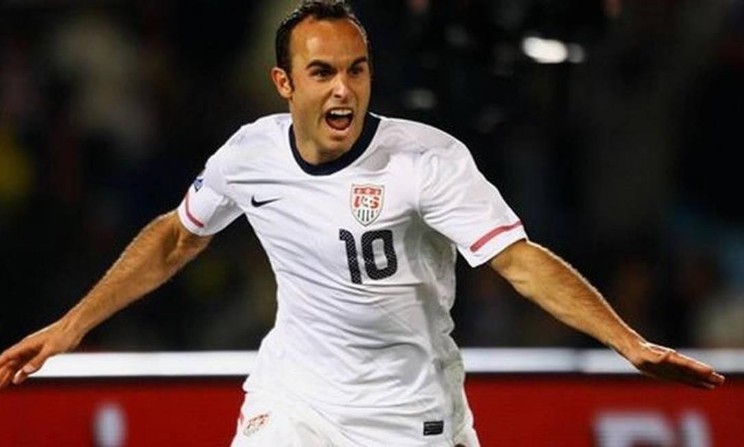 Donovan em ação pela seleção americana de futebol Foto: Reprodução / Facebook