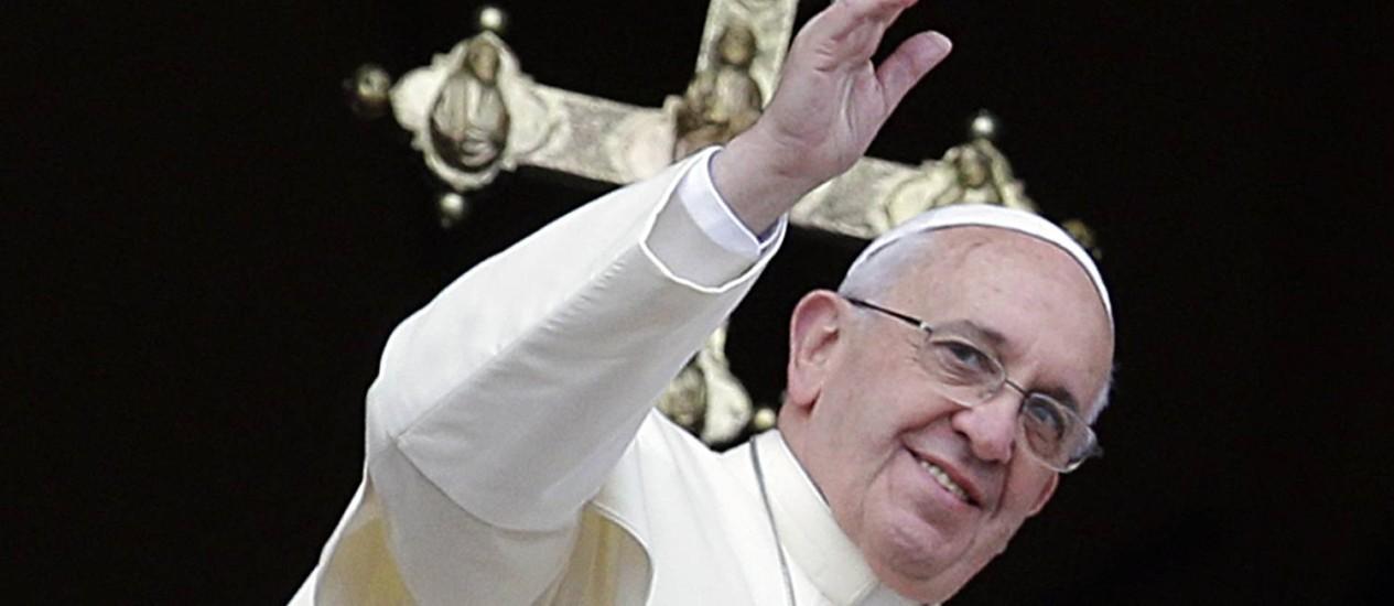 Em três dias na Terra Santa, Francisco cumprirá compromissos religiosos e políticos Foto: Gregorio Borgia / AP