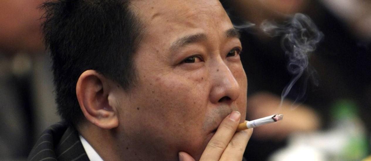 O empresário chinês foi condenado de chefiar uma quadrilha mafiosa Foto: CHINA STRINGER NETWORK / REUTERS