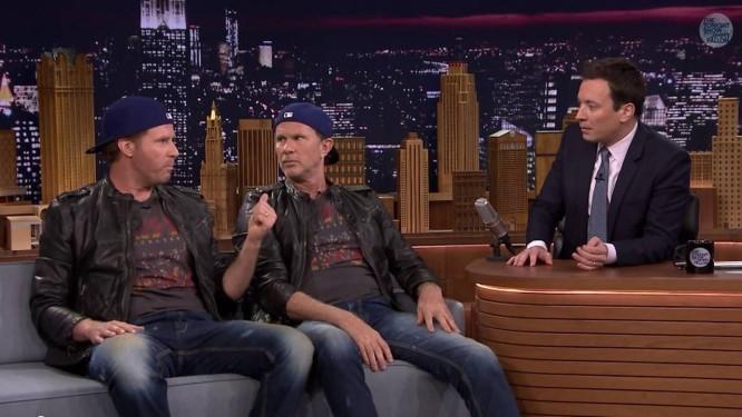 Chad Smith e Will Ferrel Foto: Reprodução