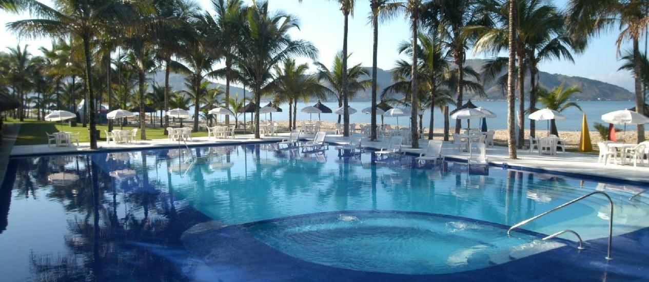 Portobello Resort & Safári, em Mangaratiba: casa da seleção italiana durante a Copa Foto: Divulgação