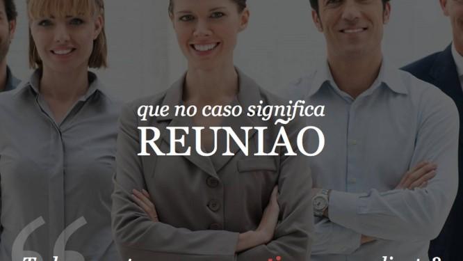 """O tumblr """"Português para executivos"""" se propõe, com muito humor, a aumentar o vocabulário do executivo brasileiro Foto: REPRODUÇÃO"""