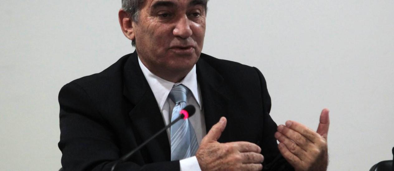 O ministro Gilberto Carvalho, da Secretaria-Geral da Presidência, minimizou indicação de delegado da PF. Foto: Givaldo Barbosa / Agência O Globo