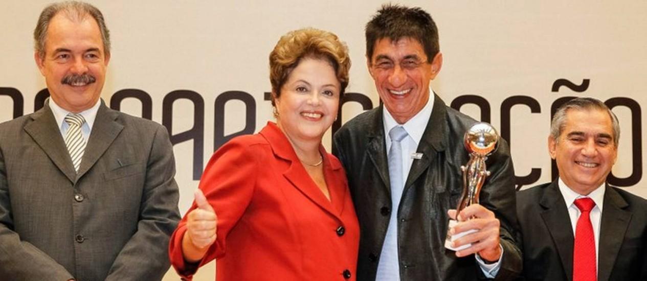 Dilma durante solenidade sobre participação social, em Brasília. Foto: Palácio do Planalto / Divulgação