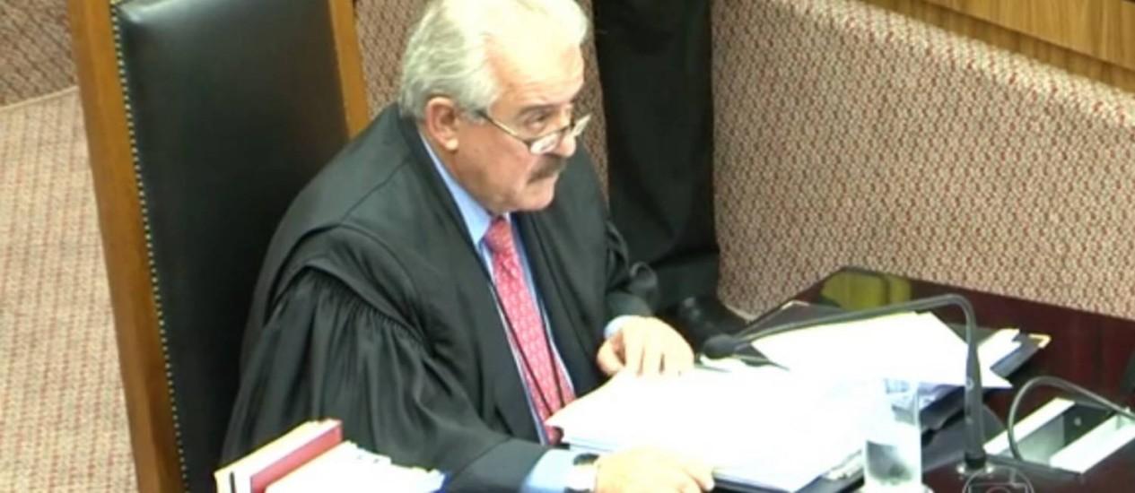 O conselheiro do TCE-SP Robson Marinho é suspeito de ter recebido propina da Alstom Foto: Reprodução/TV Globo
