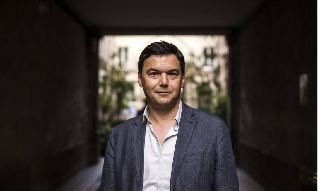 O economista francês Thomas Piketty: best-seller sob suspeita, segundo o FT Foto: ED ALCOCK / NYT