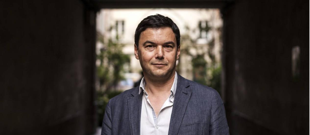 O economista francês Thomas Piketty Foto: ED ALCOCK / NYT