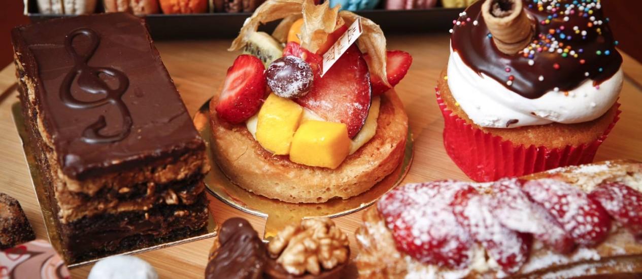 Delícias. Tortinhas de frutas: delicadeza inspirada nos doces franceses Foto: Bárbara Lopes