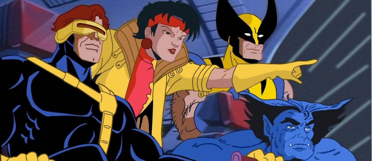 Os mutantes Ciclope, Jubileu, Wolverine e Fera em cena Foto: Reprodução