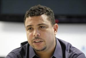 Ronaldo será um dos donos do Fort Lauderdale Strikers, time da NASL, segunda liga em importância dos Estados Unidos Foto: Paulo Whitaker/Reuters/23-5-2014
