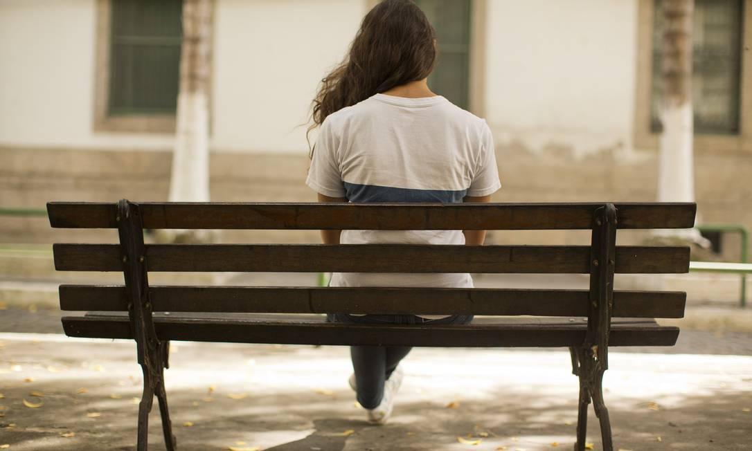 Jovem de 16 anos que luta contra a depressão Foto: / Fabio Seixo