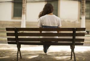 Jovem de 16 anos que luta contra a depressão Foto: Fabio Seixo