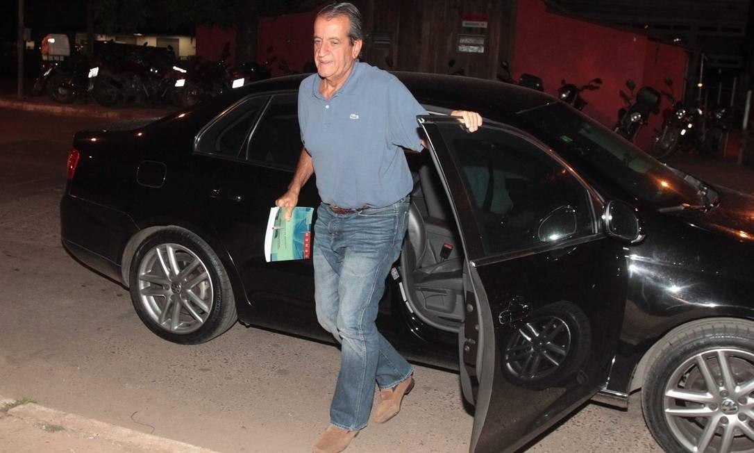 Valdemar Costa Neto, condenado no mensalão, articulou rompimento com governo enquanto trabalhava Foto: Givaldo Barbosa / O Globo