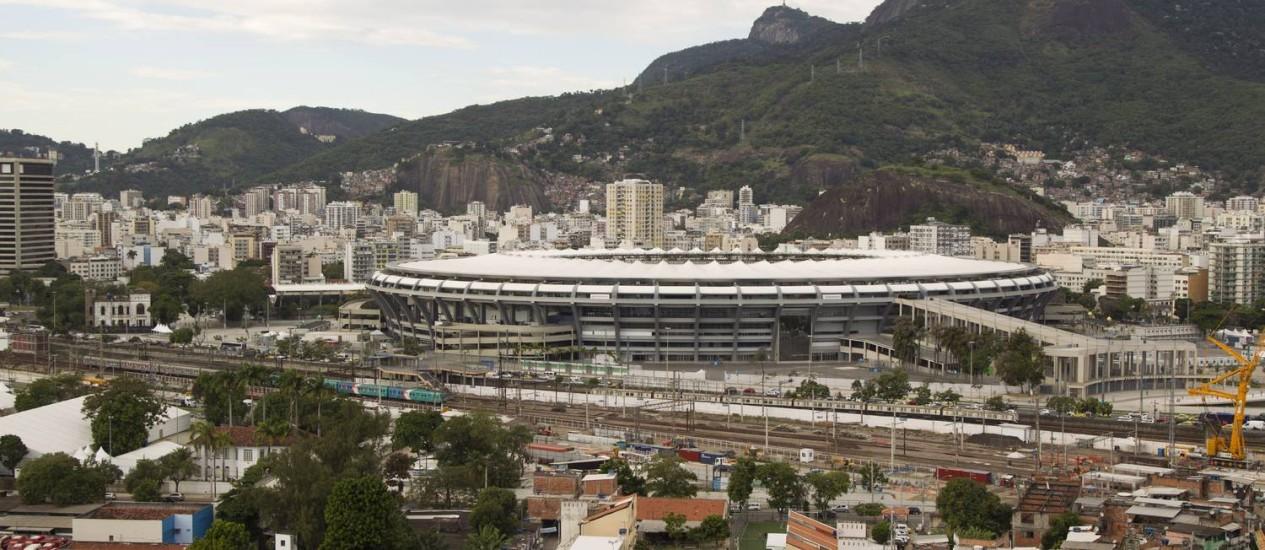 Hoje a região no entorno do estádio remodelado é densamente povoada, refletindo o aumento populacional Foto: Márcia Foletto / Agência O Globo