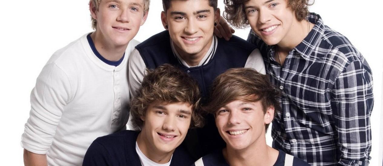 One Direction pode ganhar programa de TV e já pensa em nova turnê para 2015 Foto: Divulgação