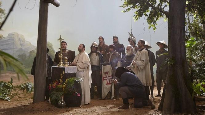"""Sétimo longa-metragem de Ana Carolina e o primeiro em digital, """"A primeira missa"""" recria evento histórico para debater o cinema Foto: Divulgação"""