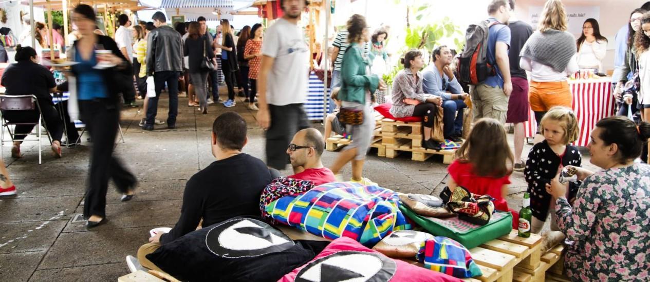 Cluster, evento de moda e gastronomia em Botafogo Foto: Agência O Globo / Fabio Seixo