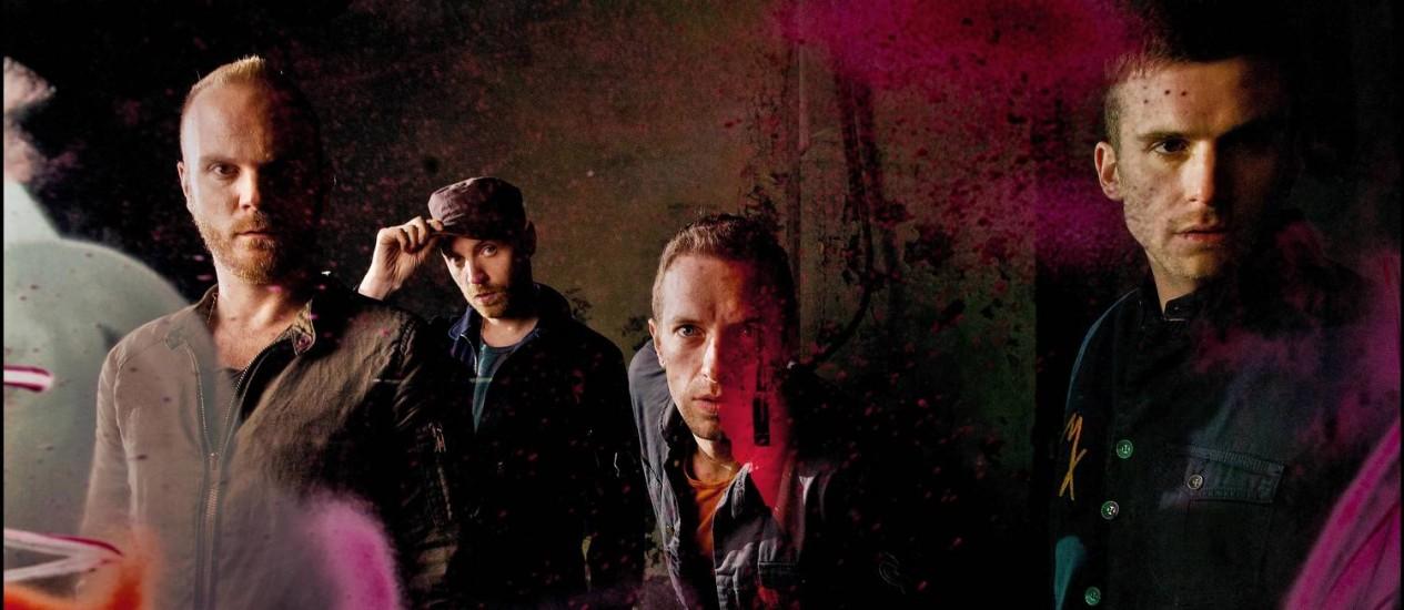 O Coldplay Foto: Sarah Lee/Agência O Globo