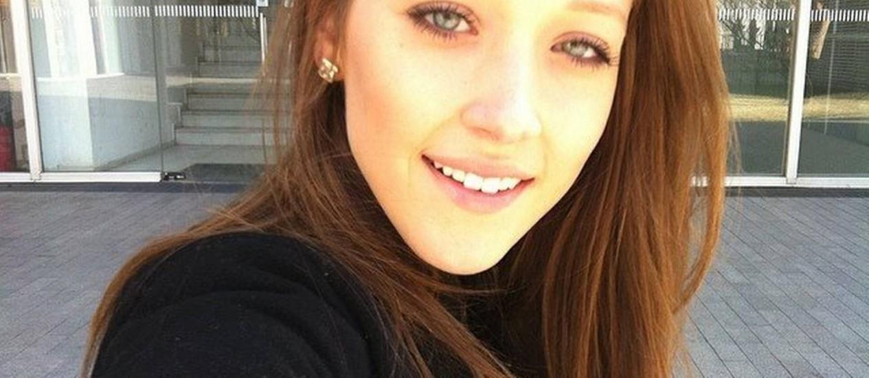 A modelo Amanda Griza Foto: Reprodução/Facebook