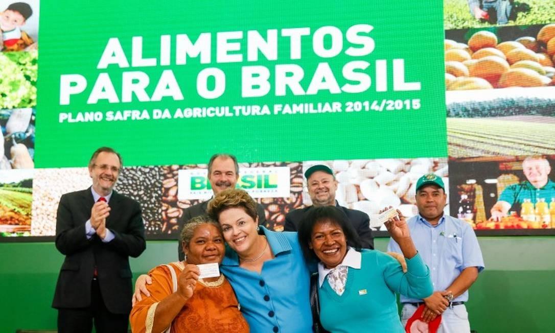 Dilma durante solenidade em Brasília nesta segunda-feira. Foto: Roberto Stuckert Filho / Divulgação